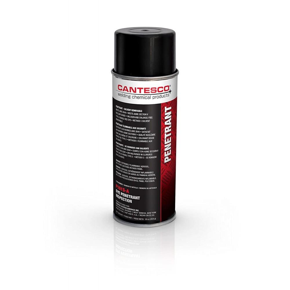 Liquido Penetrante Visible Removible con Solvente P101S-A Cantesco